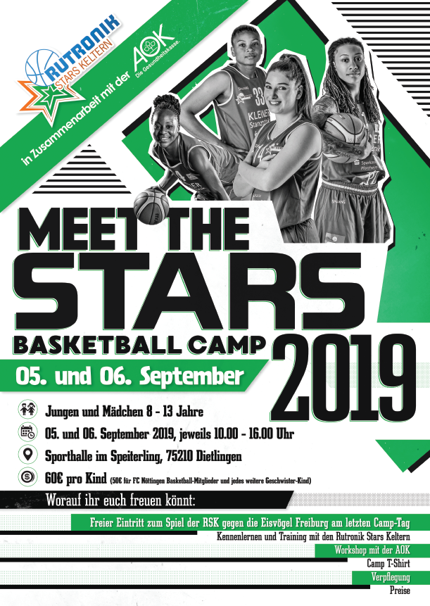 Camp Poster Meet the Stars